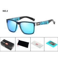 DUBERY <b>Brand Design</b> Polarized Sunglasses Men Square Mirror ...