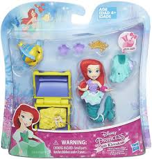 Hasbro <b>Набор маленькая кукла</b> Принцесса Ариэль с ...
