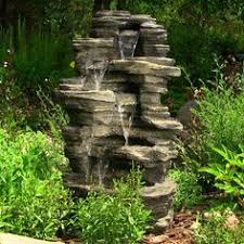 outdoor patio water fountain yard outdoor indoor yard garden water fountain outdoor decor waterfall with