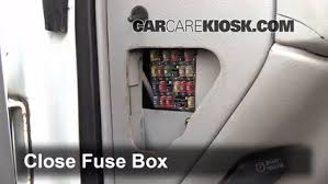 interior fuse box location chevrolet k  interior fuse box location 1990 2000 chevrolet k3500 2000 chevrolet k3500 6 5l v8 turbo diesel cab and chassis