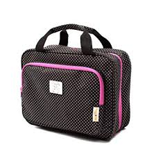 Large Polka Dot Travel Cosmetic Bag - Large ... - Amazon.com