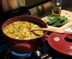 Приготовления в керамической посуде