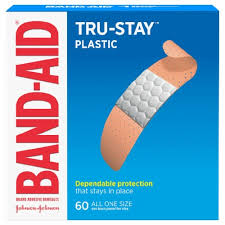 Band-Aid Plastic Strips Bandages, 60 ct - King Soopers