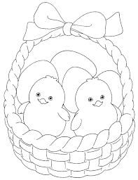 Small Picture Easter Coloring Pages Baby Chicks Best Coloring Page