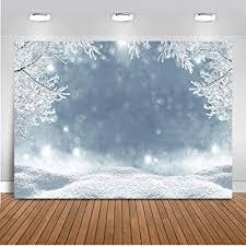 Mehofoto Winter Photography Backdrop White Snow ... - Amazon.com