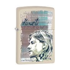 Заказать <b>Зажигалка ZIPPO Kurt Cobain</b> с покрытием Cream Matte ...
