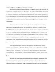 personal leisure philosophy essay   my personal leisure philosophy   pages chapter  assignment demographics of my leisure a self study essay