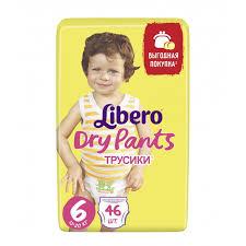 <b>Libero Подгузники-трусики Dry</b> Pants Extra Large Size 6 (13-20 кг ...