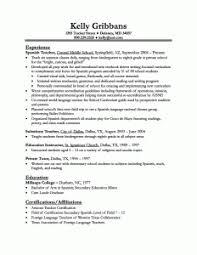 teaching resume examples   best resume templateelementary school teacher resume template