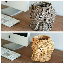 <b>Rattan</b> sculptural stationary holders | Плетение корзин, Шкатулка ...