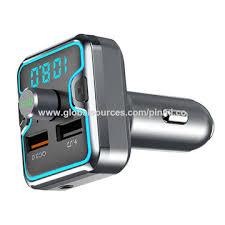 China AGETUNR T45 bluetooth <b>5.0 car</b> mp3 player <b>QC 3.0</b> light ...