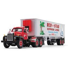 1 64 scale express dhl truck model yellow container transporter diecast kids toys collection gift