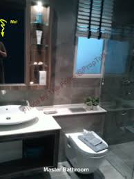 the master bathroom is good sized and we liked the color scheme and design much better than the common bathroom however you still get the same ardmore 3 fung shui good