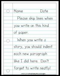 4e31e9f34aeb5aa1171cb3ca0e565cbd notebook paper classroom freebies 100 ideas to try about elementary writing paragraph, writing on adjective paragraph worksheets