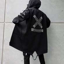 <b>Мужская куртка с капюшоном</b>, ветровка с принтом в стиле ...