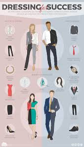 dressing for success infographic city dressing for success
