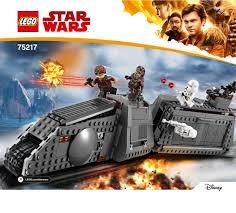 <b>LEGO 75217</b> Imperial Conveyex Transport Instructions, <b>Star Wars</b>