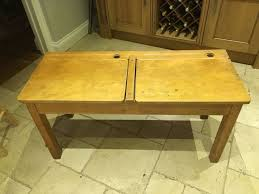 USED VINTAGE <b>WOODEN</b> OLD SCHOOL DESK <b>LIFT</b> UP LID ...