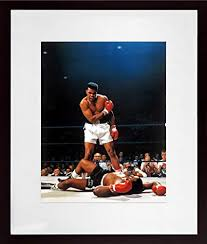 """<b>Muhammad Ali</b>""""First <b>Round</b> - First Minute"""" Color 11X14 Photograph ..."""