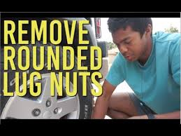 How To Remove Rounded <b>Lug Nuts</b> (Hammer Method) - YouTube