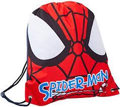 <b>Marvel Spiderman</b> Boys <b>Drawstring</b> Gym Bag Face: Amazon.co.uk ...