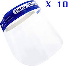 <b>10 pcs Face Shield</b> Ship from Toronto Ready to use -Receive it ...