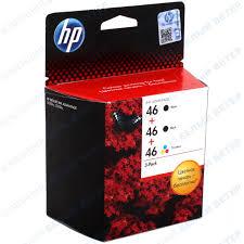 <b>Картридж HP</b> F6T40 No <b>46</b>, 2x-Black, <b>Tri</b>-<b>colour</b> – купить в ...