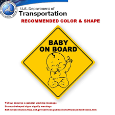 Suction Cup car Sign by iwantthatsign.com® <b>Baby on Board car</b> ...