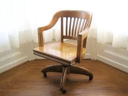 oak swivel desk chair antique swivel office chair