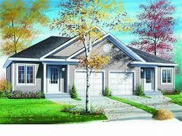 Duplex Floor Plans  amp  Duplex House Plans   The House Plan ShopPlan M