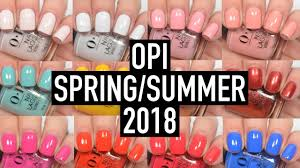 <b>OPI</b> - <b>Lisbon</b> (Spring/Summer 2018) | Swatch and Review - YouTube