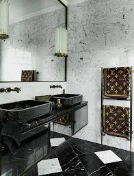 Inside a London Home Full of Luxurious Layers. Colin O'donoghueBlack Marble  BathroomGold ...