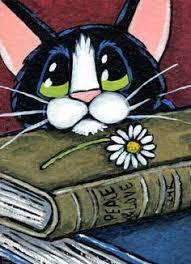The <b>Book</b> says, Peace & Love | Кошачий узор, Рисунки животных ...