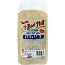 Bob's Red Mill-<b>Organic Brown Rice Farina</b> Cereal, Pack of 4 ( 26 oz ...