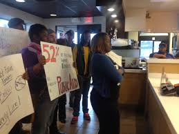 report on public cost of low wage jobs sparks response in st the check was peacefully preseted to coworkers behind the counter at mcdonald s at the conclusion of the press conference