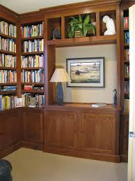 beautiful custom built home library in cheery wood a case study loft apartment design built home library