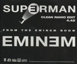 Image result for lyrics of superman by eminem