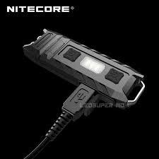<b>1 PC best price Nitecore</b> thumb 120 degree tilt USB rechargeable ...