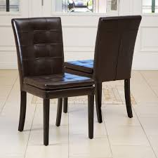 Brown Leather Dining Room Chairs Best Idea With The Leather Dining Room Chairs Dining Room Leather