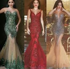 <b>Hot Sexy</b> Dark Emerald Green Sequined Mermaid Evening Dresses ...