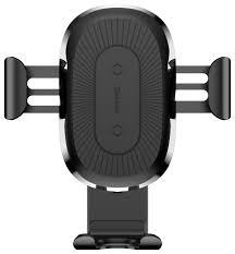 Держатель с <b>беспроводной</b> зарядкой <b>Baseus Wireless Charger</b> ...