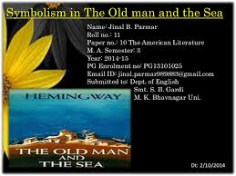 symbolism in  quot the old man and the sea quot