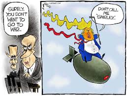 Image result for trump and syria cartoons