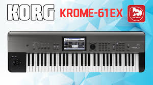 <b>KORG KROME</b>-<b>61 EX</b> Музыкальная рабочая станция - YouTube