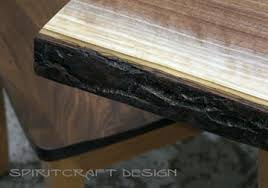 walnut cherry dining: live edge dining table or desk in solid book matched black walnut live edge slabs