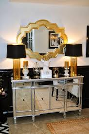 tiffany night stand borghese mirrored furniture