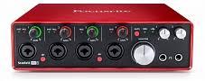 <b>FOCUSRITE SCARLETT 18I8</b> 2ND GEN -- USB <b>аудио интерфейс</b> ...