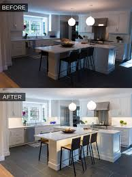 under shelf lighting. before after under cabinet lighting in a recently remodeled kitchen shelf o
