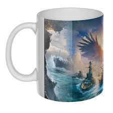 <b>World of</b> Warships, 3D-<b>кружка</b> - купить онлайн в интернет-магазине