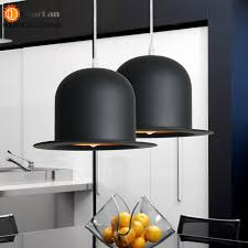modern lamp holder jeeves amp wooster top hat pendant light aluminum fedora hat light dining cheap dining room lighting